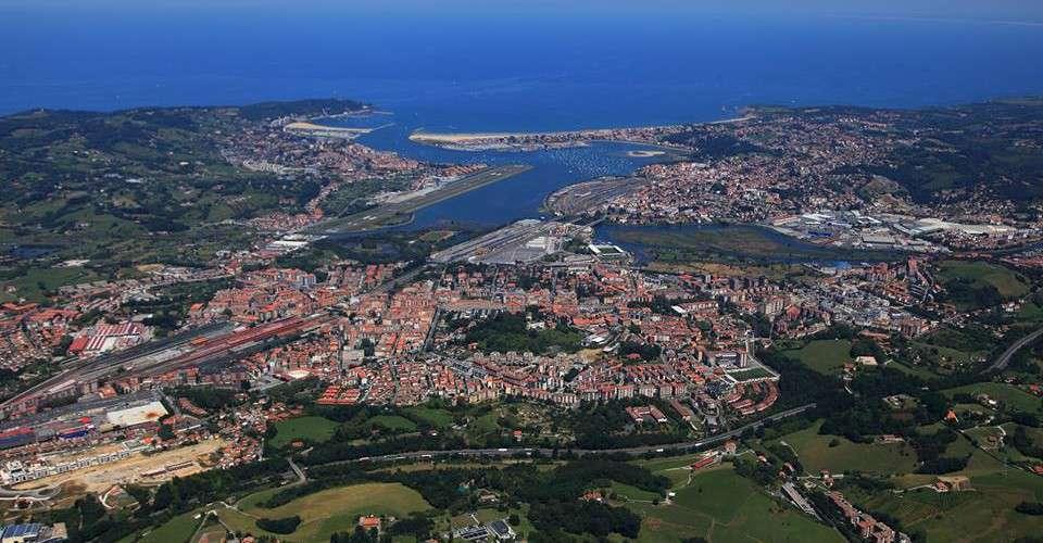 Vista Aérea de Irún - País Vasco
