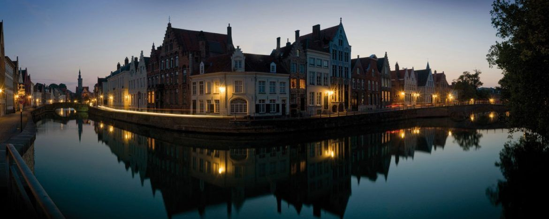 Canales de Brujas Patrimonio Flandes Bélgica © Jan Darthet