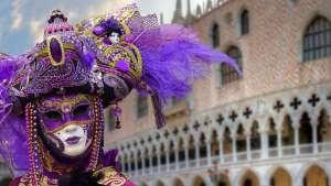 Mascara de carnaval - Venecia