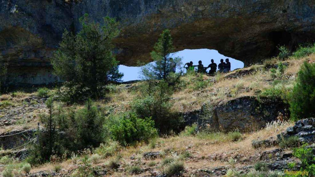 Agujero en la Roca Cañón del Río Lobos - Soria