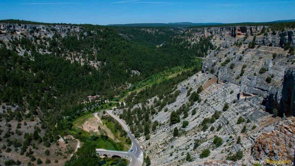 Cañón del Río Lobos desde el Mirador de la Galiana - Ucero - Soria