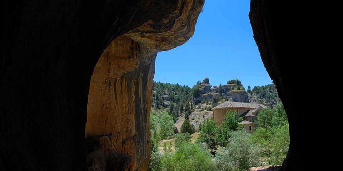 Panoramica Cueva de San Bartolomé - Rio Lobos - Soria