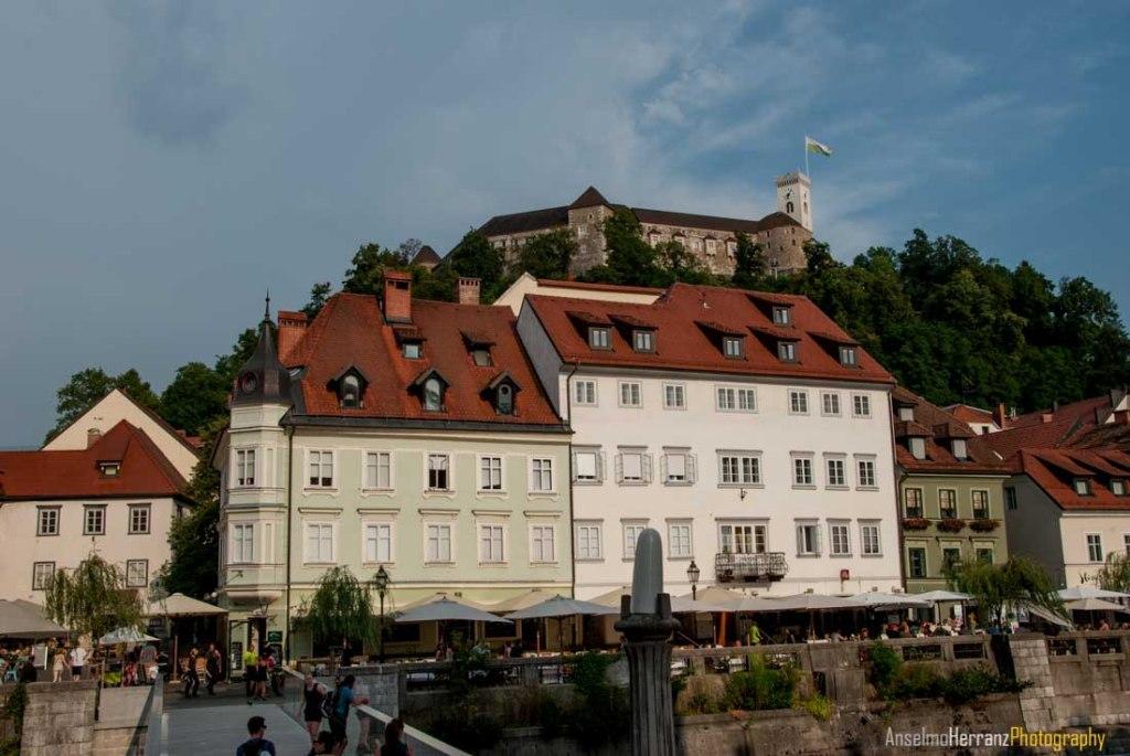 Castillo y ciudad de Ljubjana - Eslovenia