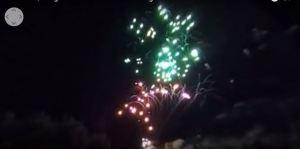 Fuegos Artificiales Coca 2016, Segovia