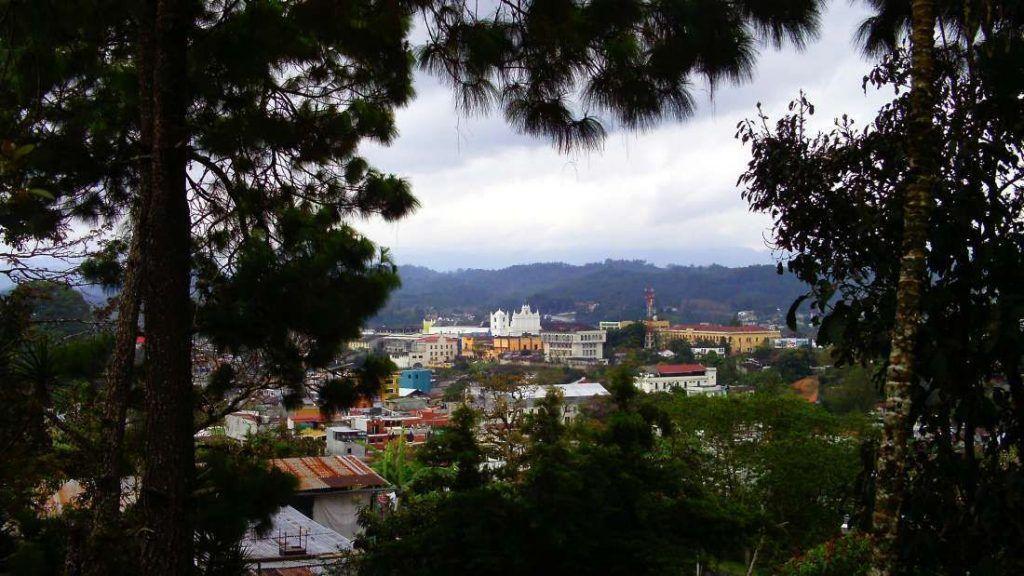 Vista de Coban desde Calvario - Guatemala