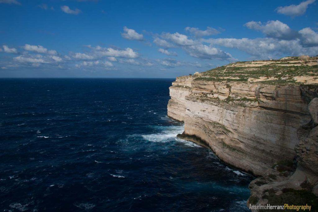 Acantilados de la isla de Gozo - Malta