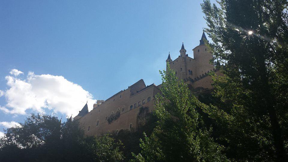 Alcázar de Segovia desde la Fuencisla
