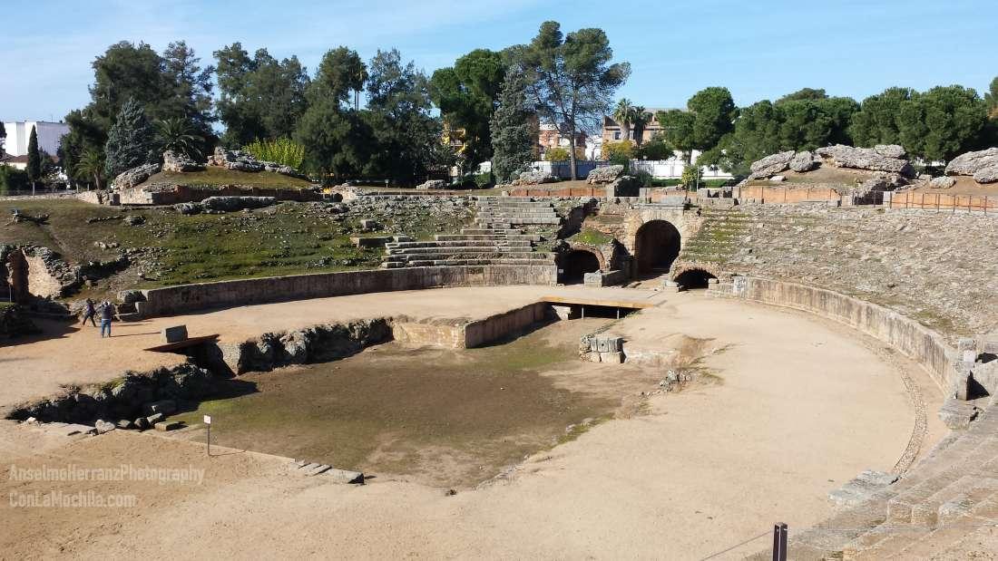 Anfiteatro Romano de Mérida - Badajoz - España