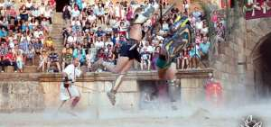 Lucha de Gladiadores - Foto cedida por: Emeritae Lvdvs Gladiatorvm
