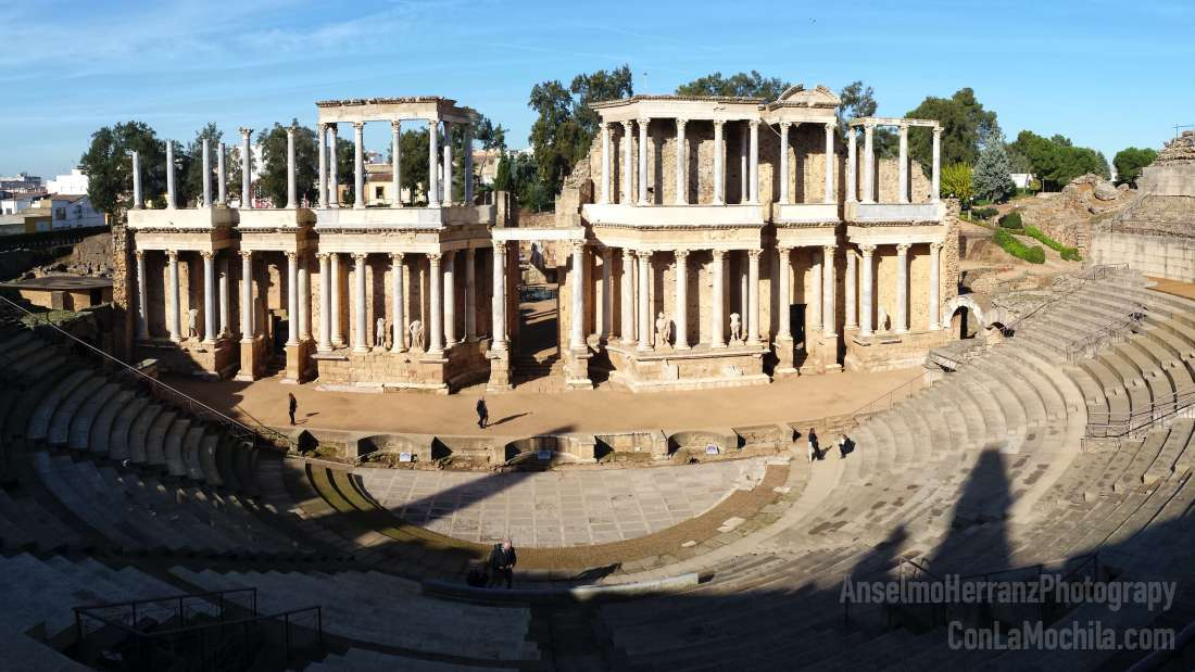 Boda Teatro Romano Merida : Ruta para visitar mérida en un día badajoz españa