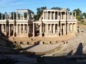 Teatro Romano de Mérida - Badajoz - España