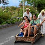 Descenso en Carros do Monte - Funchal - Madeira - Portugal