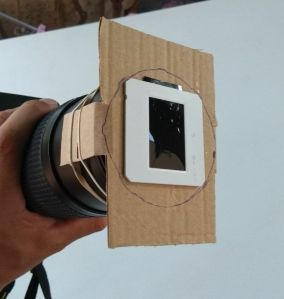 Filtro casero para fotografiar Eclipse