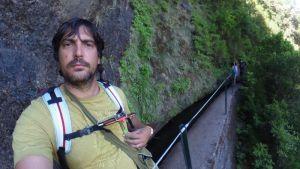 Autoretrato en la levada 25 fontes - Madeira