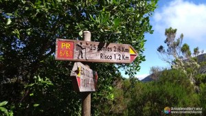 Cartel Levada 25 Fontes y Levada do Risco