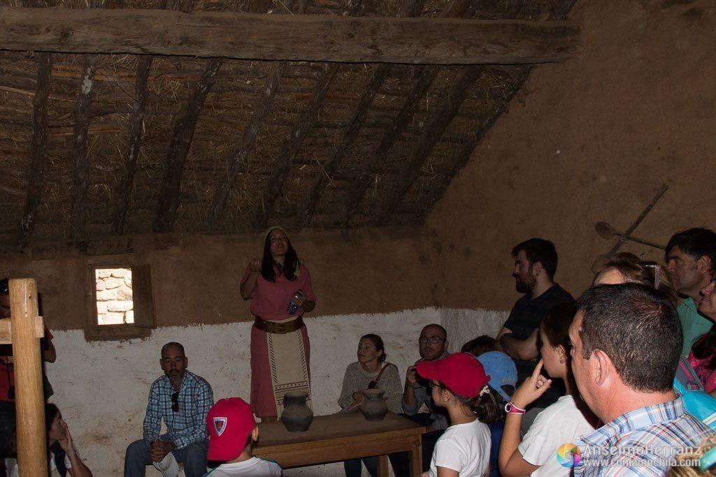 Interior de una Casa Numancia