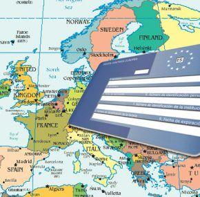Países en los que es válida la Tarjeta Sanitaria Europea
