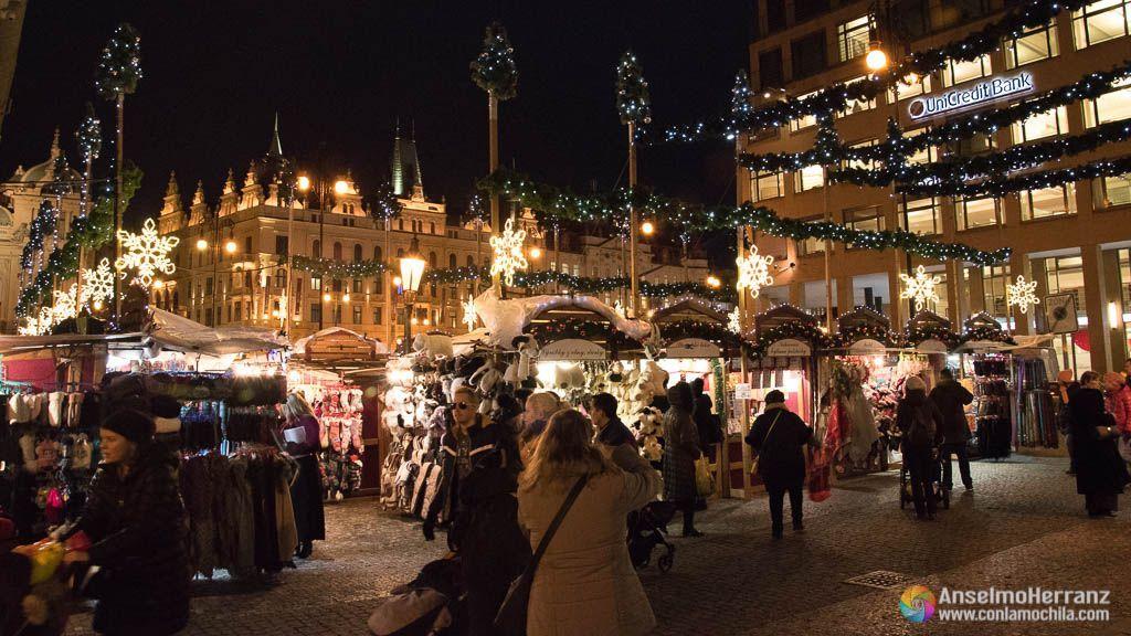 Mercado de Navidad de Plaza República - Praga