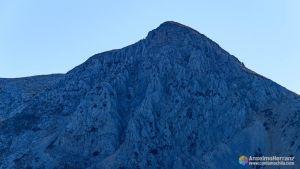 """Pico Jaén y el Corredor """"El Canuto"""" - Sierra Mágina"""