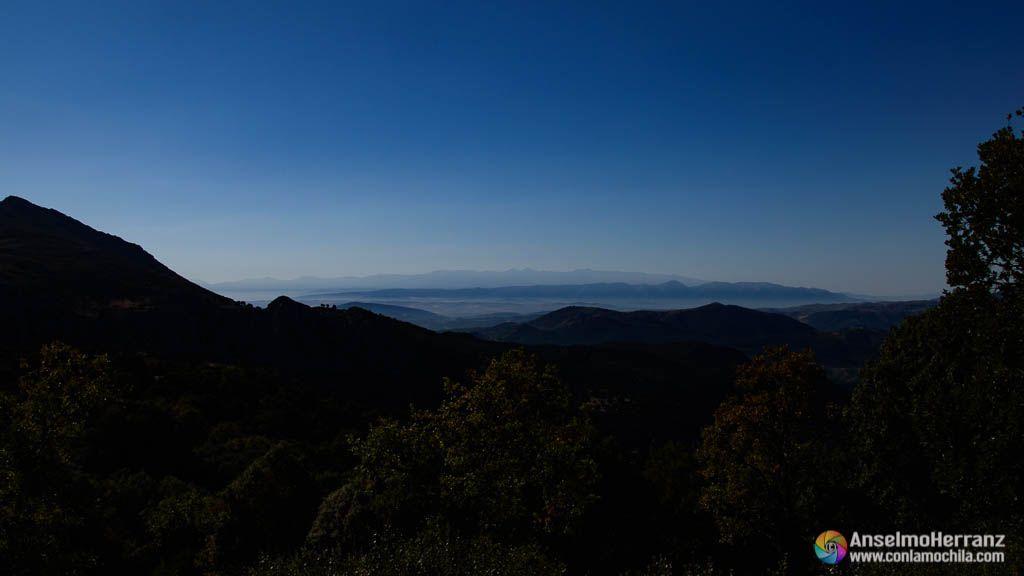 Tresmiles de Sierra Nevada desde Sierra Mágina