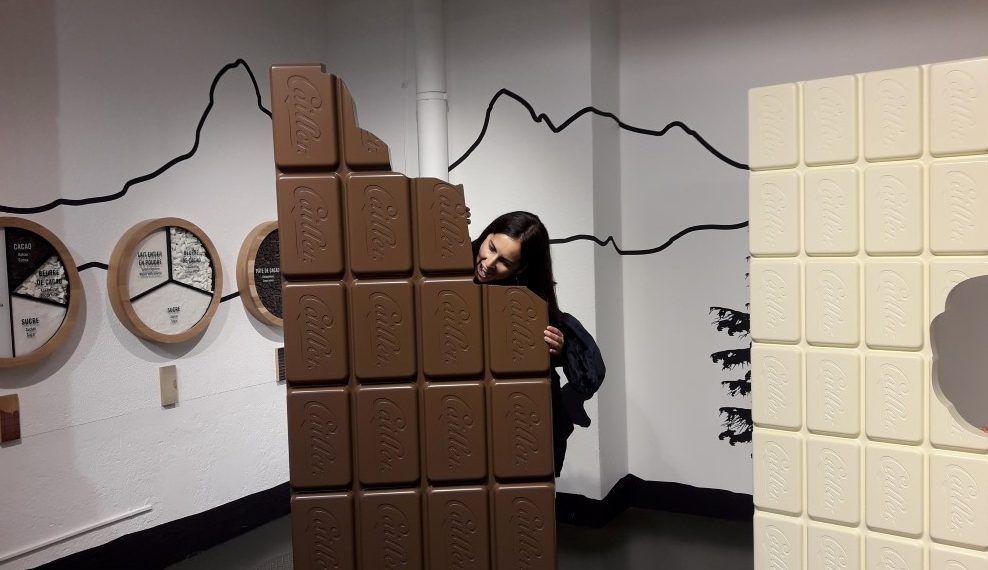 Chocolate Gigante en Maison Cailler