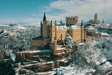 Alcazar de Segovia nevado | Foto: Antonio Quinzán