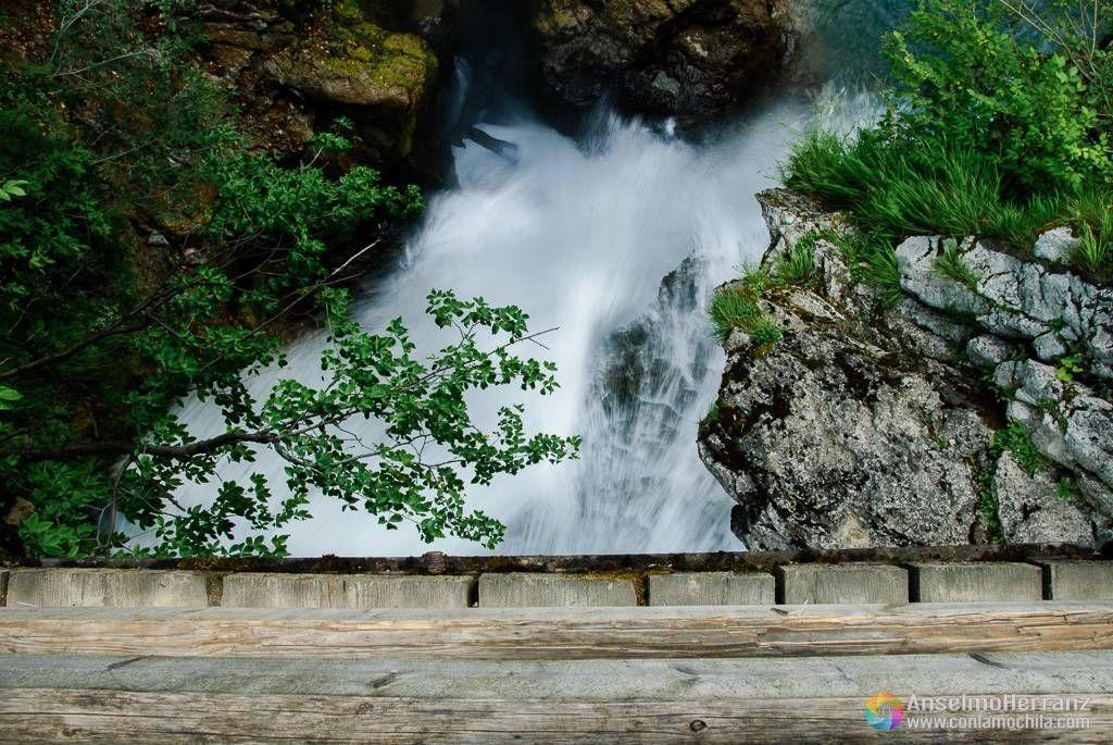 Cascada Šum - Vintgar Gorge - Eslovenia