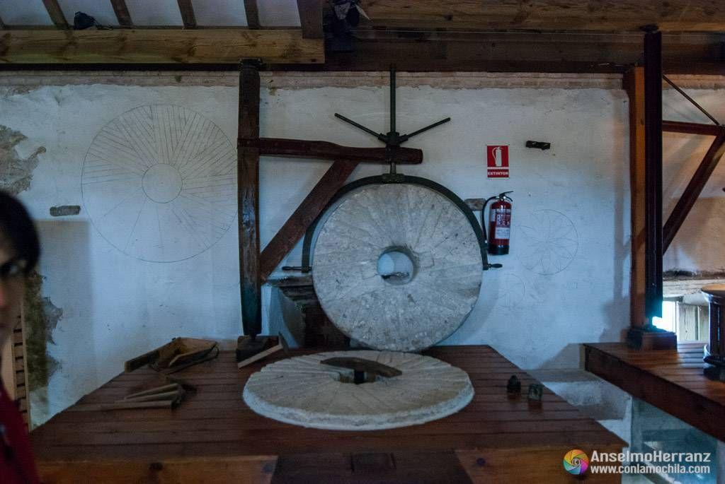 Piedra de molino - Molino de Molemocho - Las Tablas de Daimiel - Ciudad Real