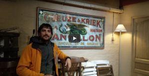 En las instalaciones de Cantillon - Bruselas