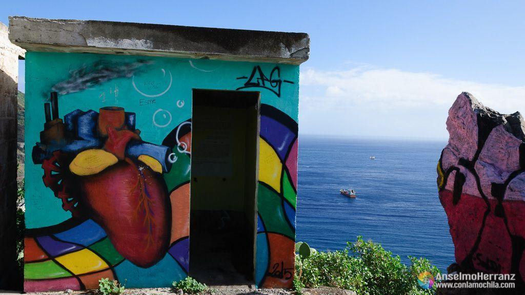Caseta en Ruinas del Mirador de las Teresitas - Tenerife