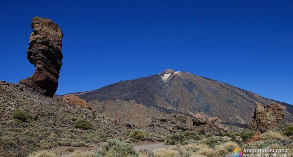 Roque Cinchado y Pico Teide - Tenerife