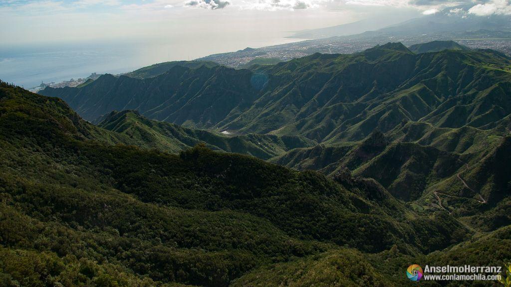 Vistas desde el mirador del Pico del inglés