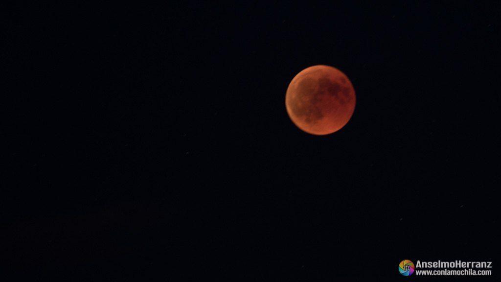 Eclipse de luna total - Luna de Sangre - Julio de 2018