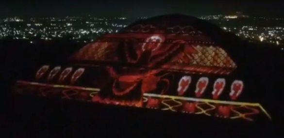 Espectáculo de luces de Teotihuacán