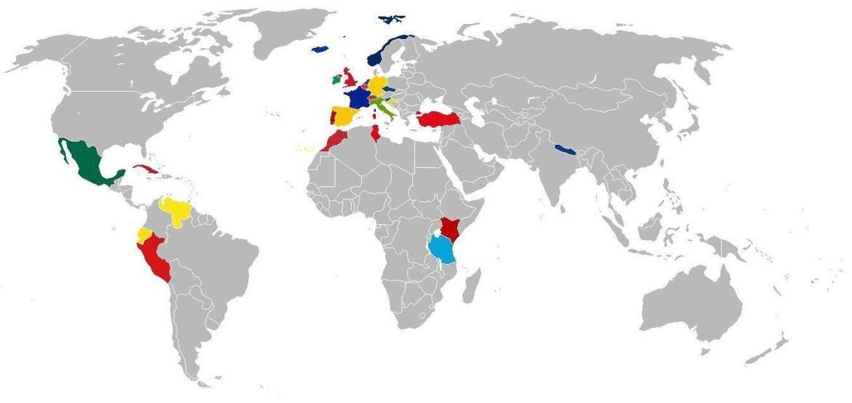 Países Visitados | Anselmo