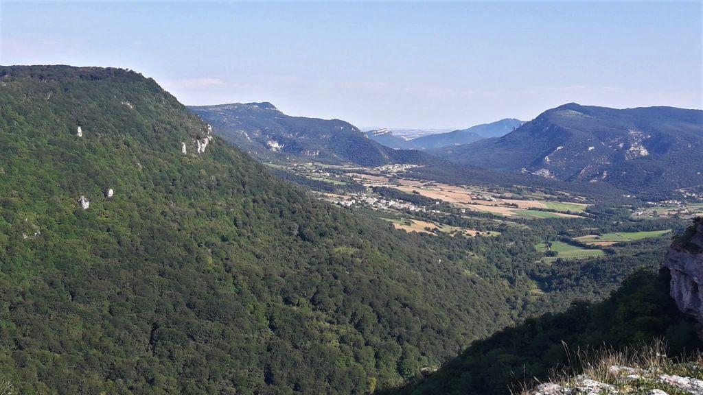 Vistas del valle desde el Balcón de Pilatos - Sierra de Urbasa - Navarra