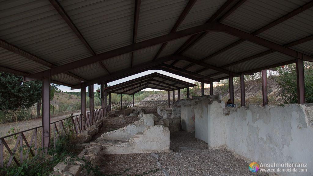 Cubierta y Yacimiento Romano de los Cinco Caños - Coca