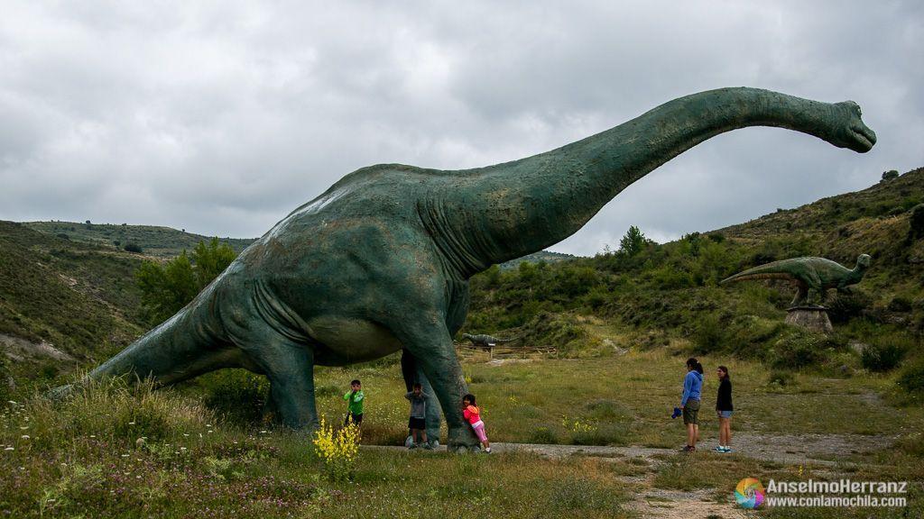 Braquiosaurio - Dinosaurios del yacimiento de Valdecevillo - Enciso - La Rioja
