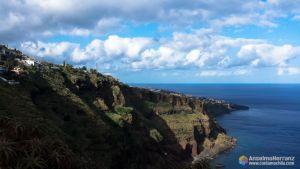 Ponta da Oliveira vista desde el mirador de Cristo Rey - Garajau - Caniço - Madeira