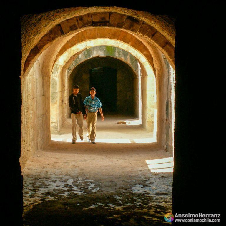 Celdas del anfiteatro de El Djem - Túnez