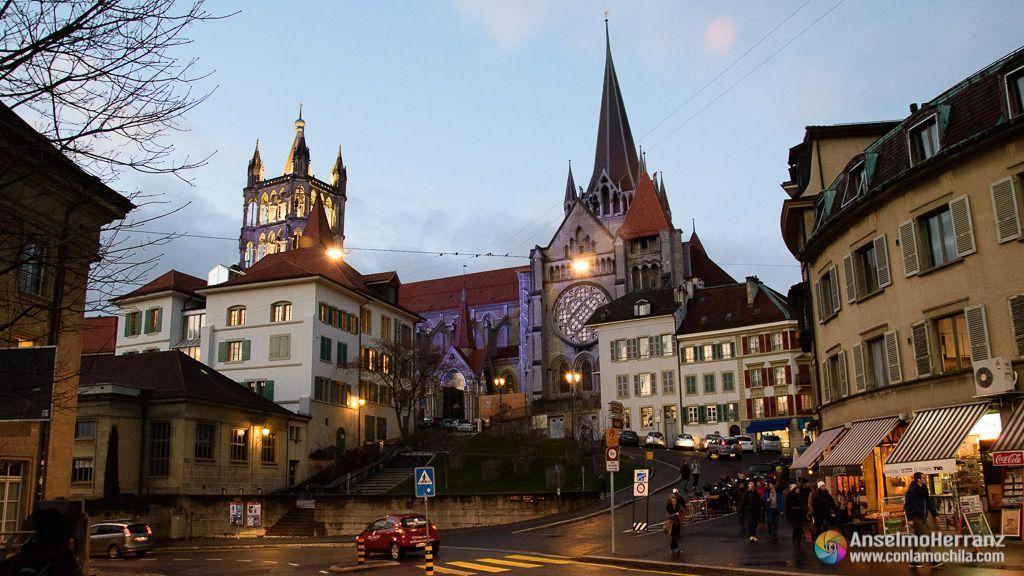 Catedral de Lausanne - Lausana - Suiza