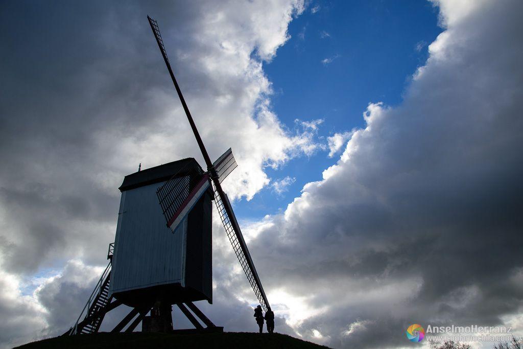 Molino de Viento de Brujas - Flandes - Bélgica