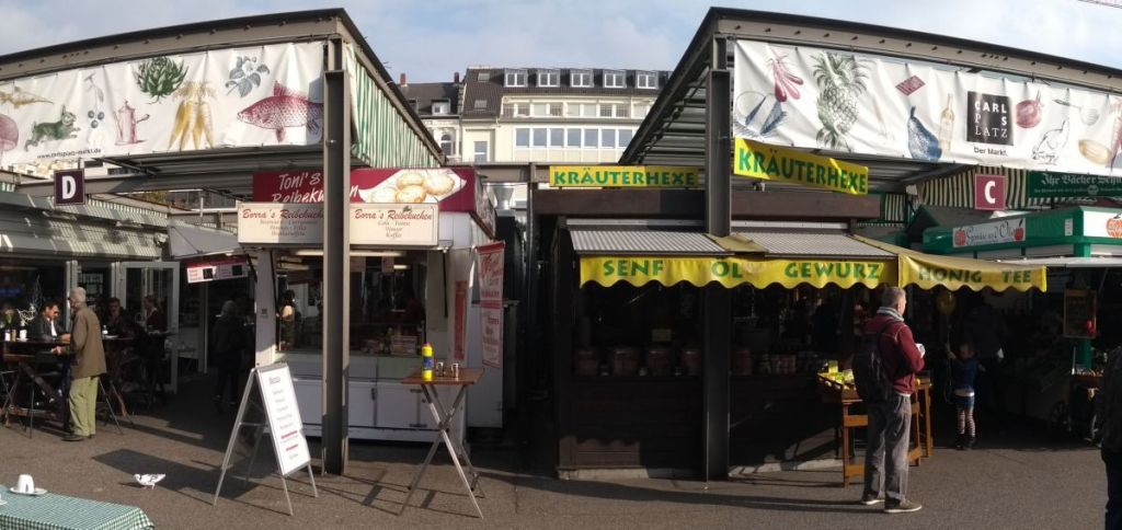 Mercado de Carlsplatz - Dusseldorf
