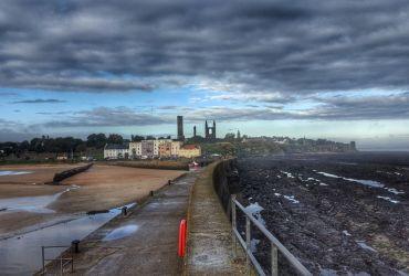 Saint Andrews desde El Muelle - Escocia