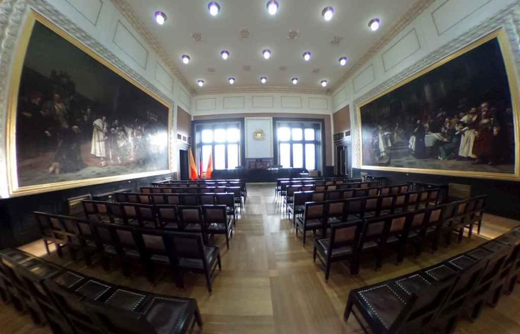 Salón de Sesiones del Old Town All - Praga