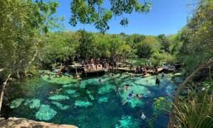 Cenote Azul - Xpu-Ha - Playa del Carmen - Quintana Roo - México