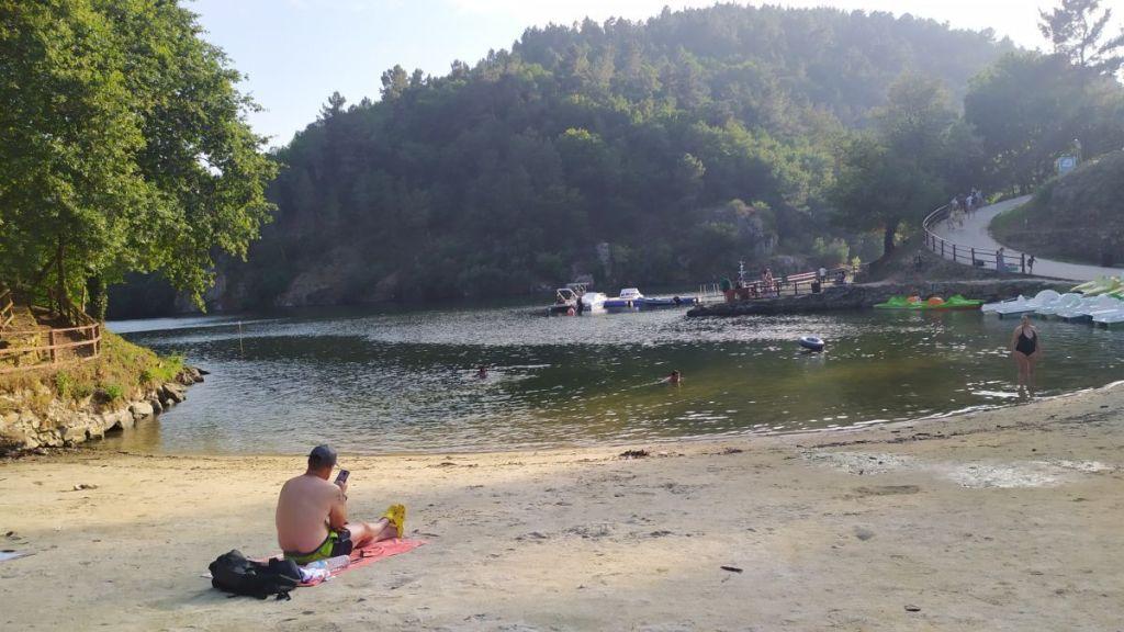 Playa Fluvial A Cova - Río Miño - Lugo