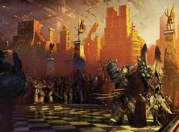 Imperio Olvidado, Guilliman y Sanguinius