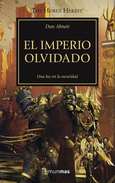 portada novela Imperio Olvidado Herejía de Horus