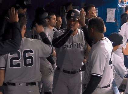 """Giancarlo Stanton """"The beast"""": Welcome to the Yankees"""